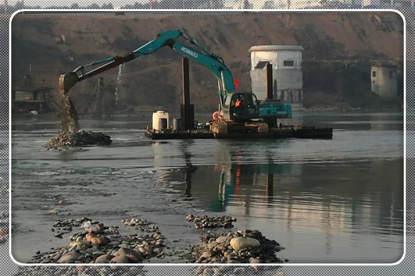 莆田市水下管道和取水頭安裝——施工-工程業績