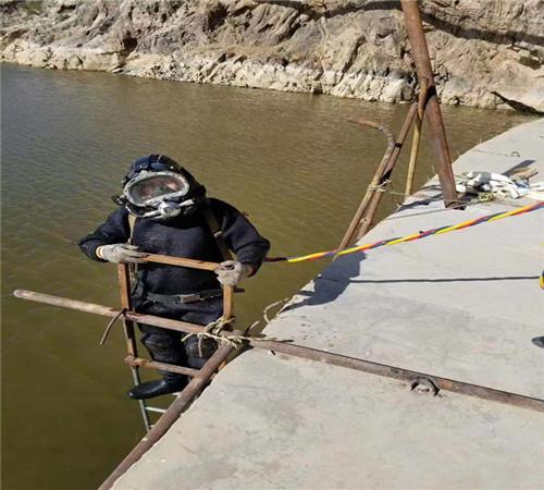 蚌埠潛水作業(安裝沉管)