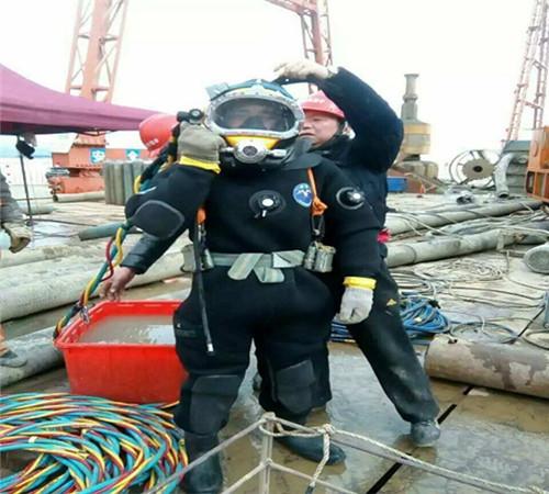 通化水下作業(沉管下沉)
